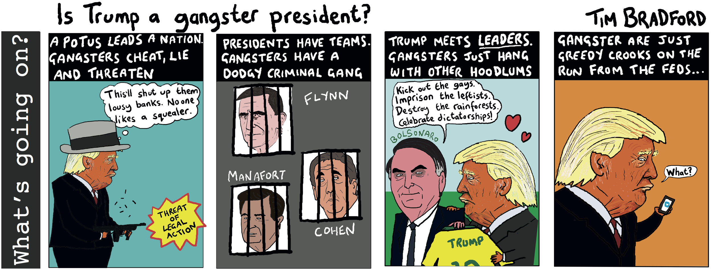 Is Trump a gangster president? - 01/05/2019