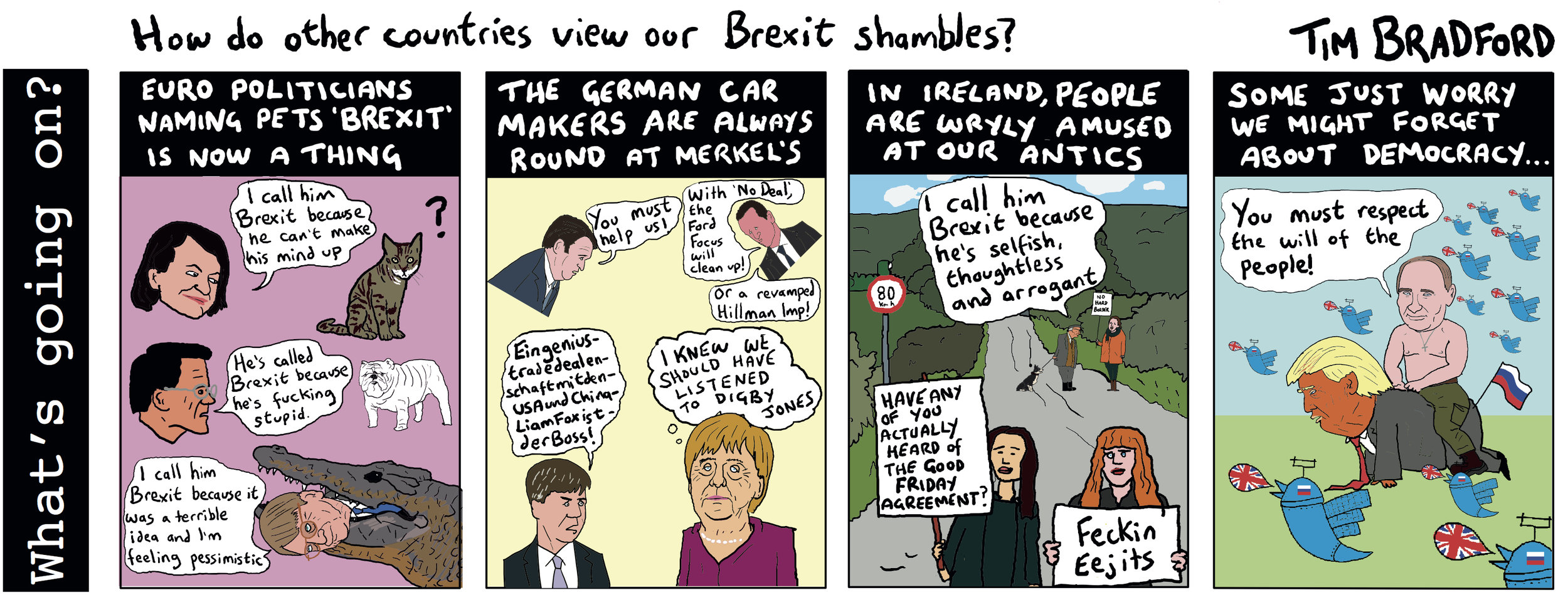 How do other countries view our Brexit shambles? - 19/03/2019