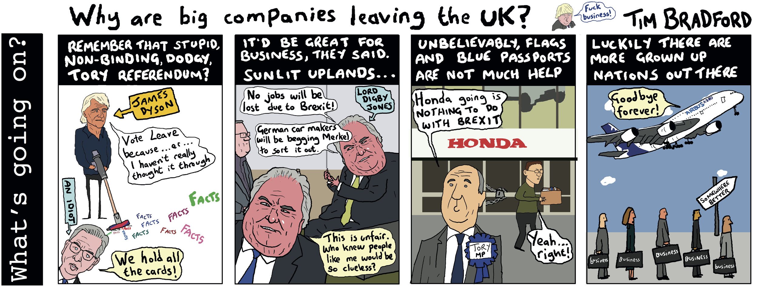 Why are big companies leaving the UK? - 19/02/2019
