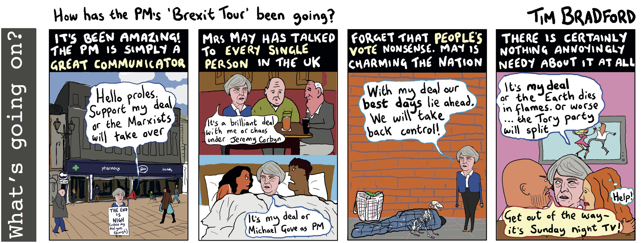How has the PM's 'Brexit tour' been going? - 04/12/2018