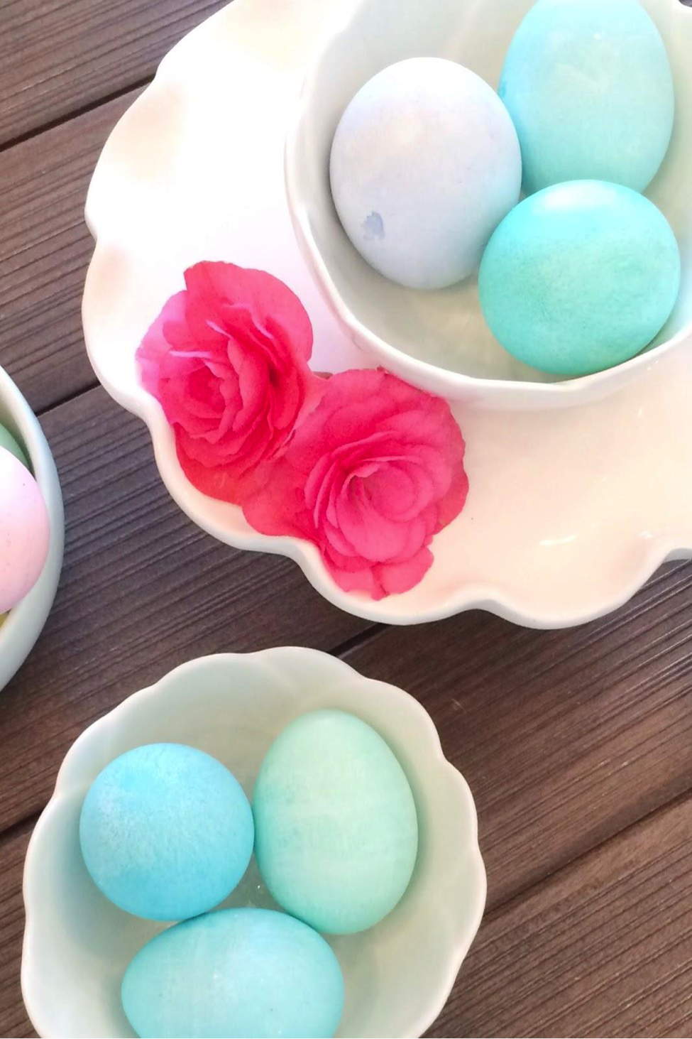 Beautiful Simple Easter Eggs