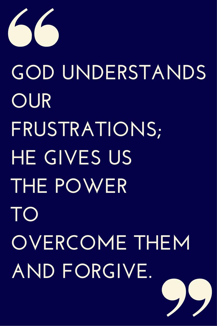 God's Help to Forgive