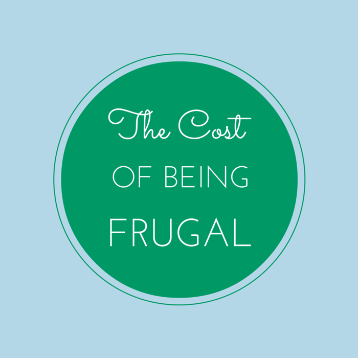 the cost of being frugal