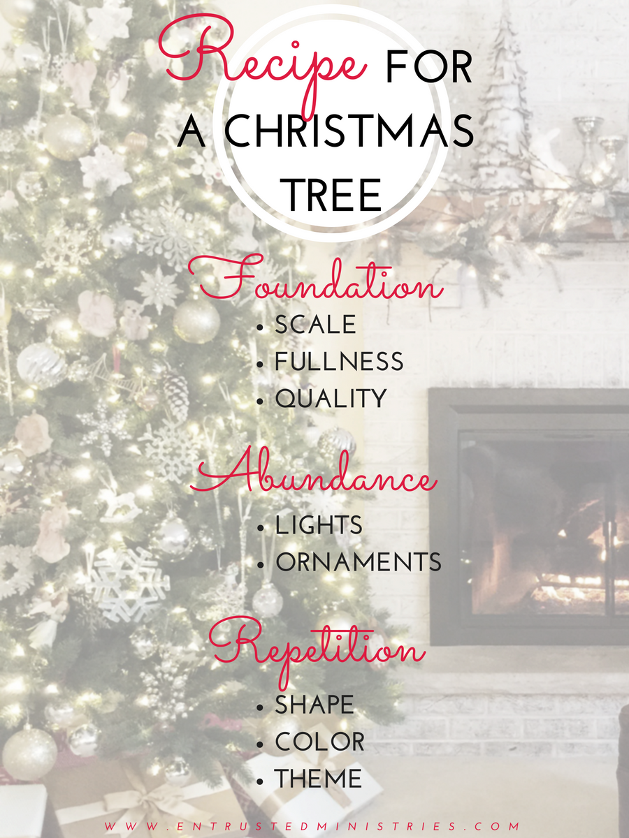 How to Decorate a Christmas Tree: The easy, fool-proof formula for a fabulous tree