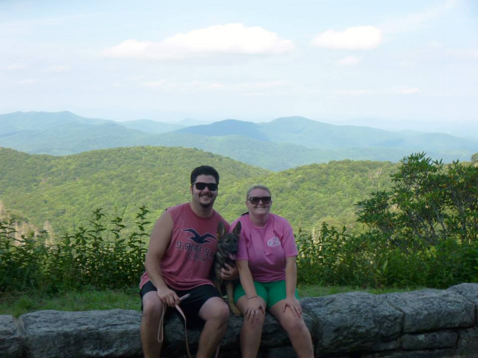 Me, Sean, and Karma.