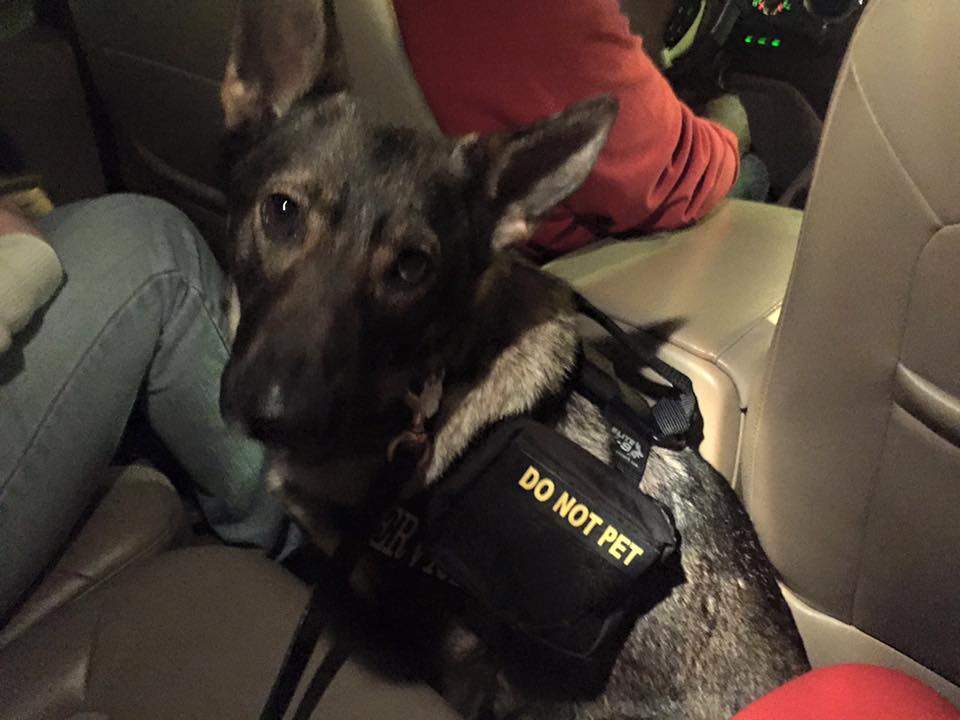 Karma Ubering with me and a few friends downtown.