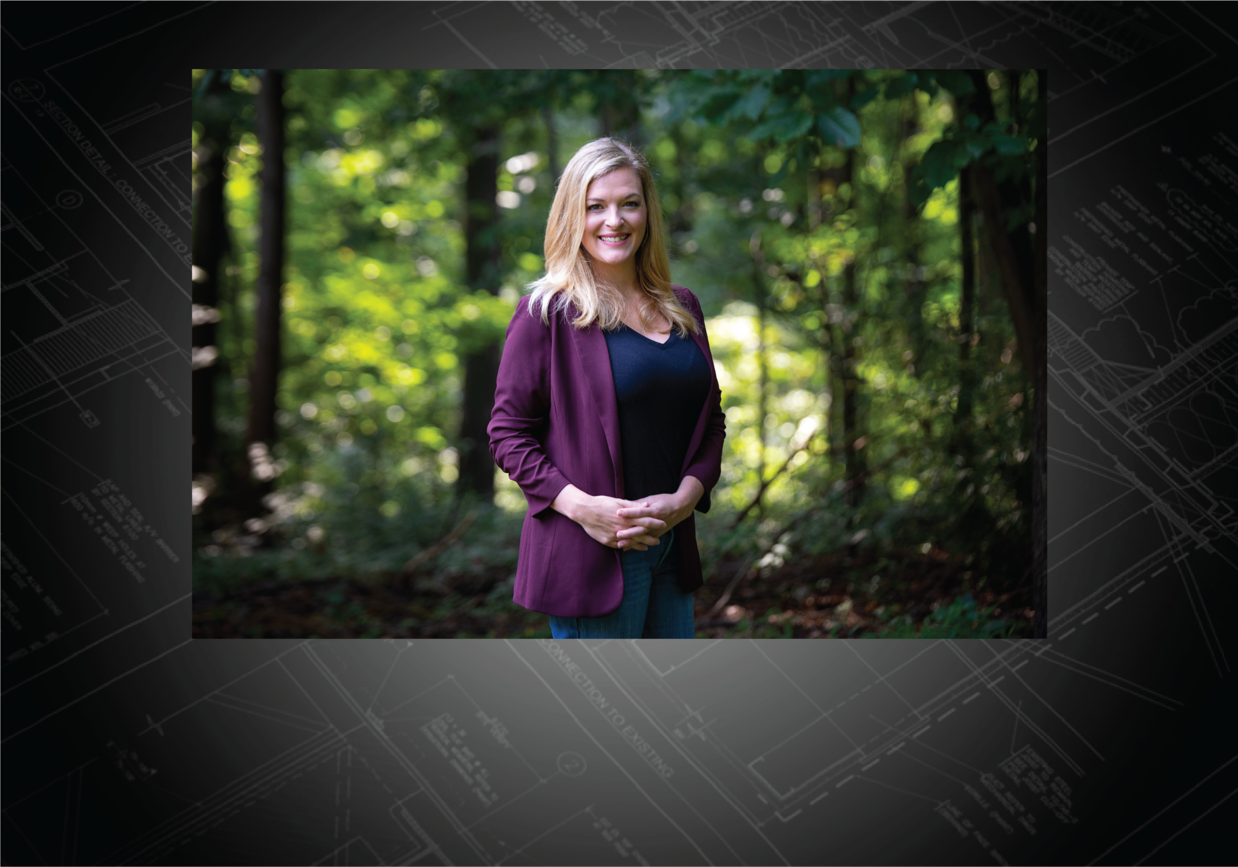 Jasmine Strain, Sales & Client Relations.  Jasmine joins the Cairn Custom Homes team with a background in residential real estate. She holds her real estate license at Keller Williams Realty Centre in Columbia and is loves to assist clients in finding the perfect lot location for their custom home. She enjoys getting to know all Cairn Custom Homes clients, while helping them navigate the custom home building process from start to finish.  Jasmine holds a B.F.A from the University of the Arts in Philadelphia and grew up in Baltimore County. In her off time you can find her working alongside her husband at Pure Wine Cafe, traveling, or attending local art events in the MD and DC region.  She currently resides in Clarksville, Maryland with her husband, son and two sweet pups.
