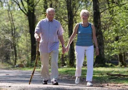 Walking is a great way to exercise. A goal of 10,000 steps per day should be your goal. Challenge yourself!!