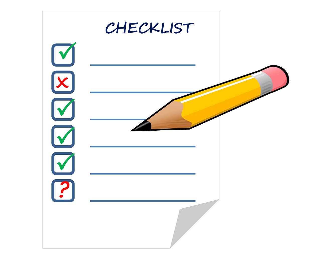 Senior Move Checklist