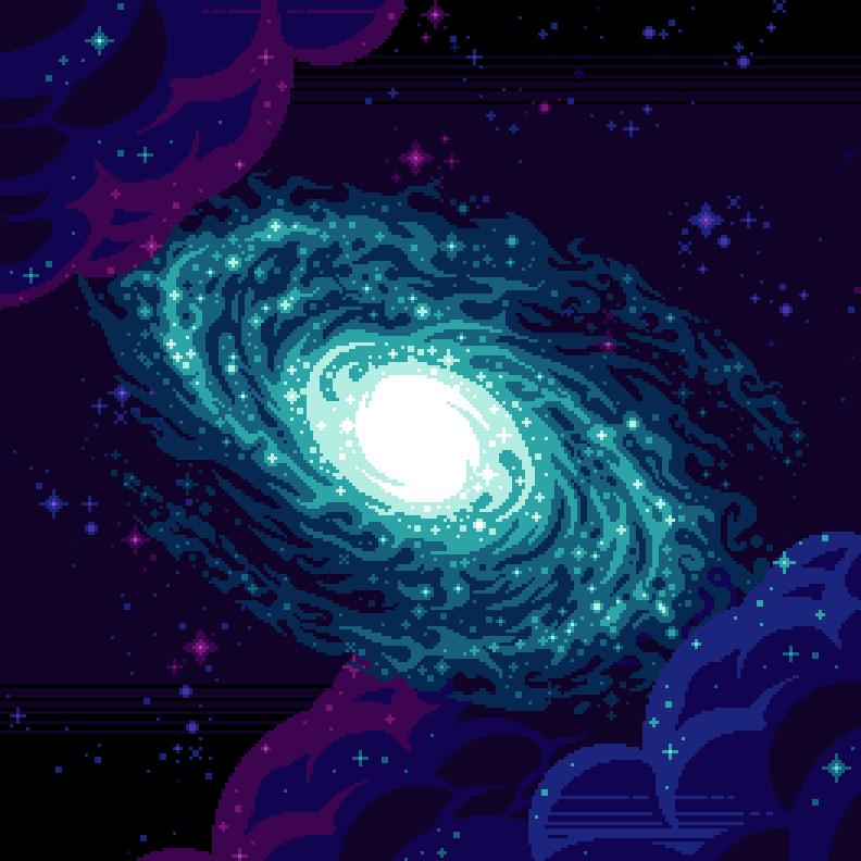 Thyria, a glorious galaxy to shmup in.