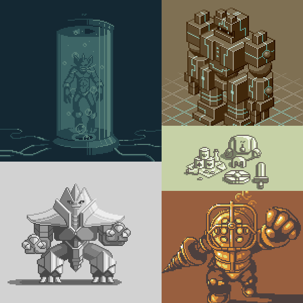 In June of 2015, about 4 months after I started pixeling seriously, a style started to emerge.
