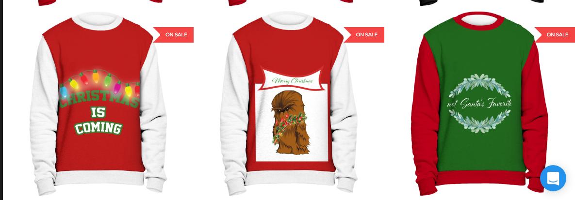 apparel Christmas design print 2017