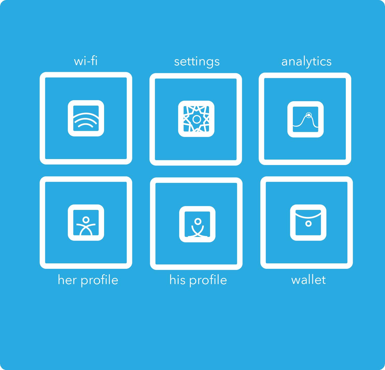 Square icons 2018