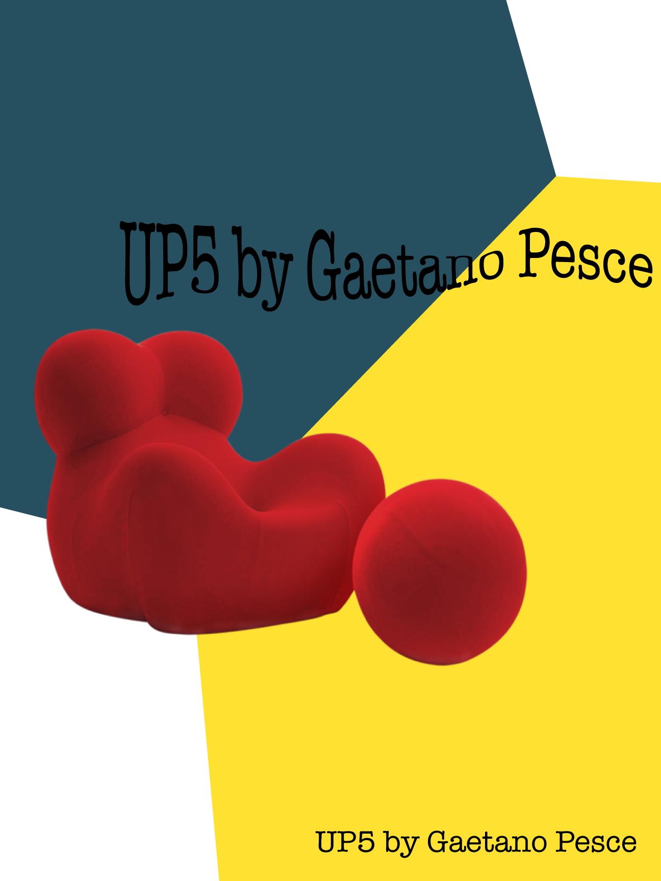 """UPS by Gaetano Pesce"""