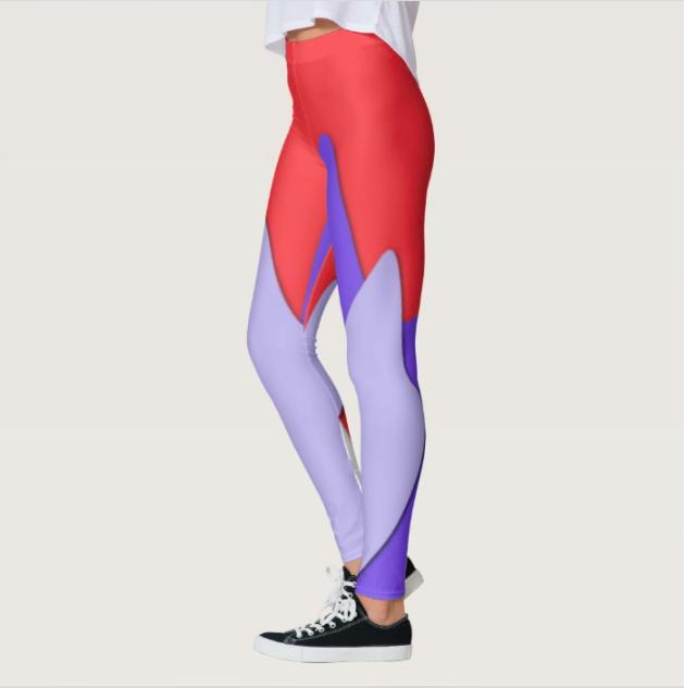leggings digital art print 2018