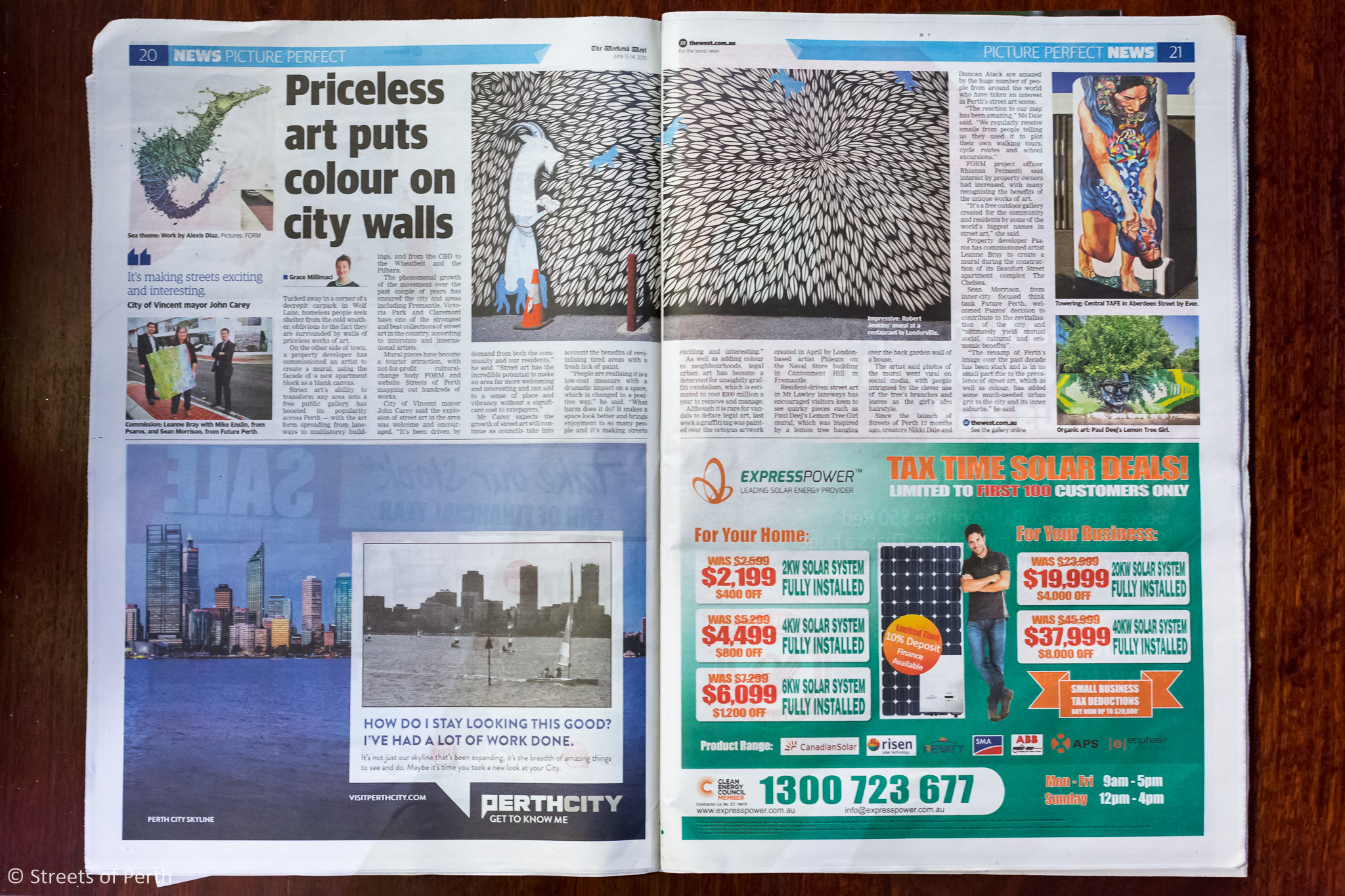 Picture Perfect News by The West Australian - 13 June 2015
