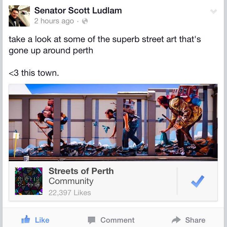 Senator Scott Ludlam - January 2015