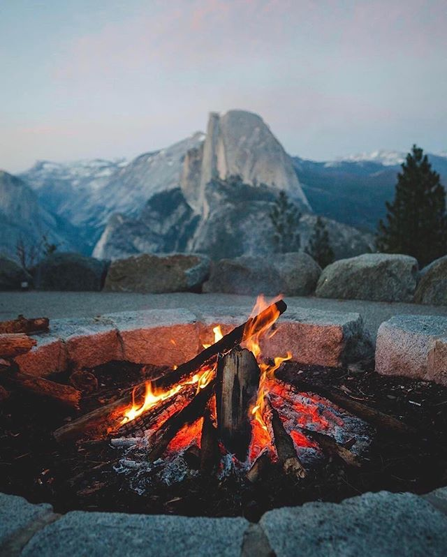 A perfect end to they day with ⠀⠀⠀⠀⠀⠀⠀⠀⠀ 📸: @zeekyan⠀⠀⠀⠀⠀⠀⠀⠀⠀ #adventure #rawcalifornia #california ⠀⠀⠀⠀⠀⠀⠀⠀⠀ #yosemite  #wilderness #visitcalifornia