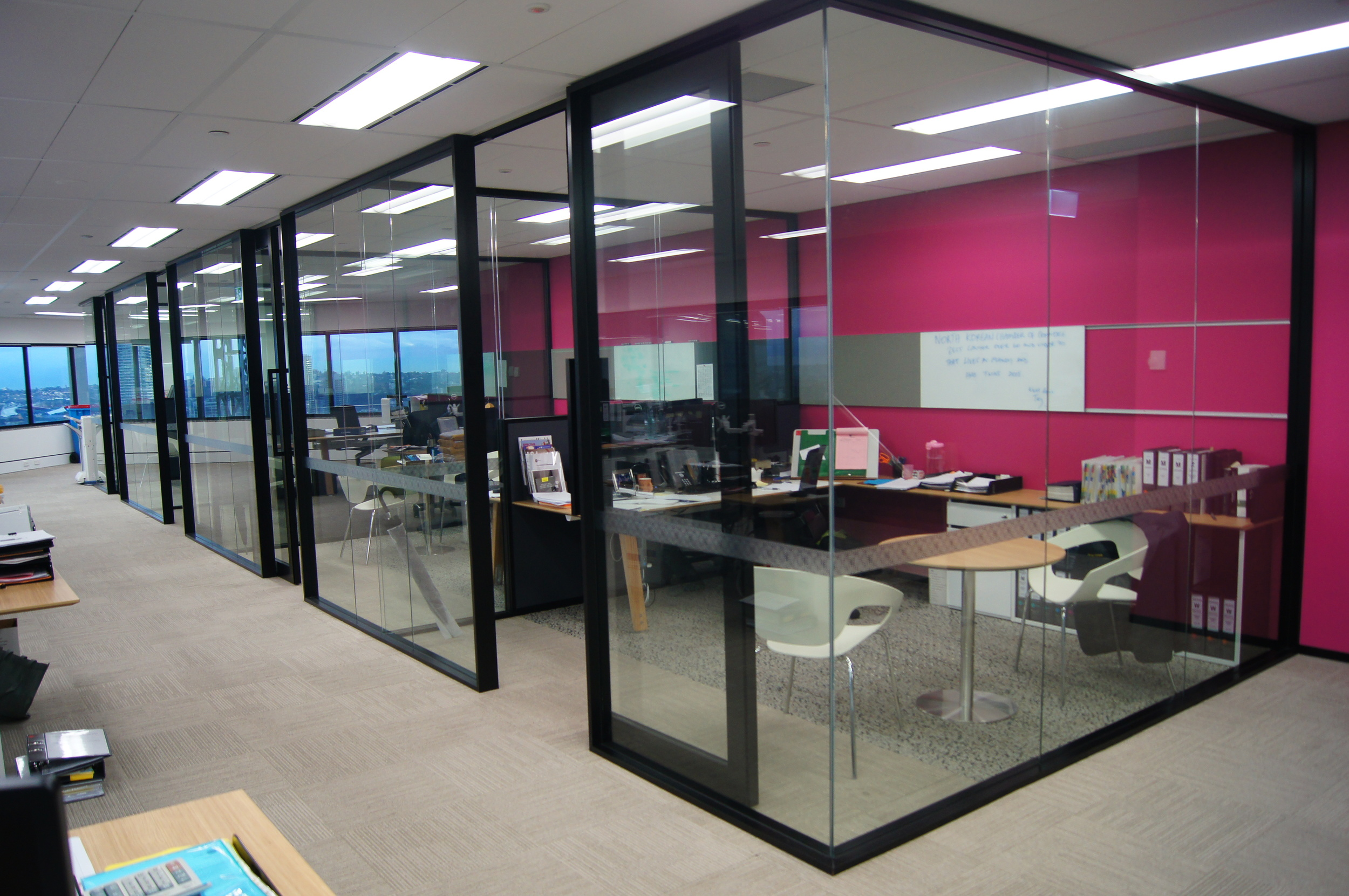 Internal offices, level 37