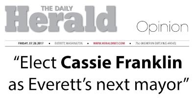 Click to View Cassie's Everett Herald Endorsement