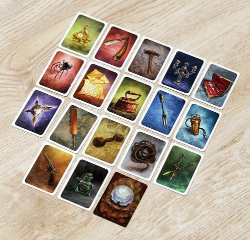 Some Item cards...