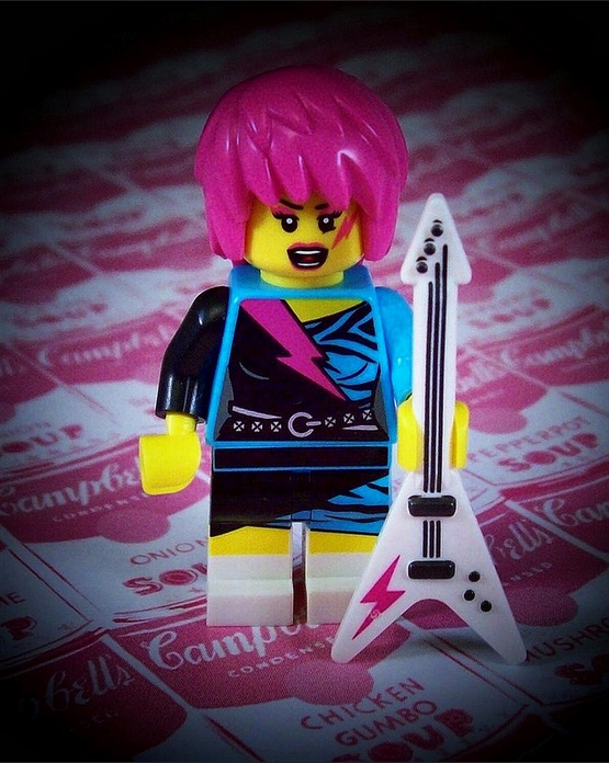 Who doesn't dream of being a LEGO Rockstar?!