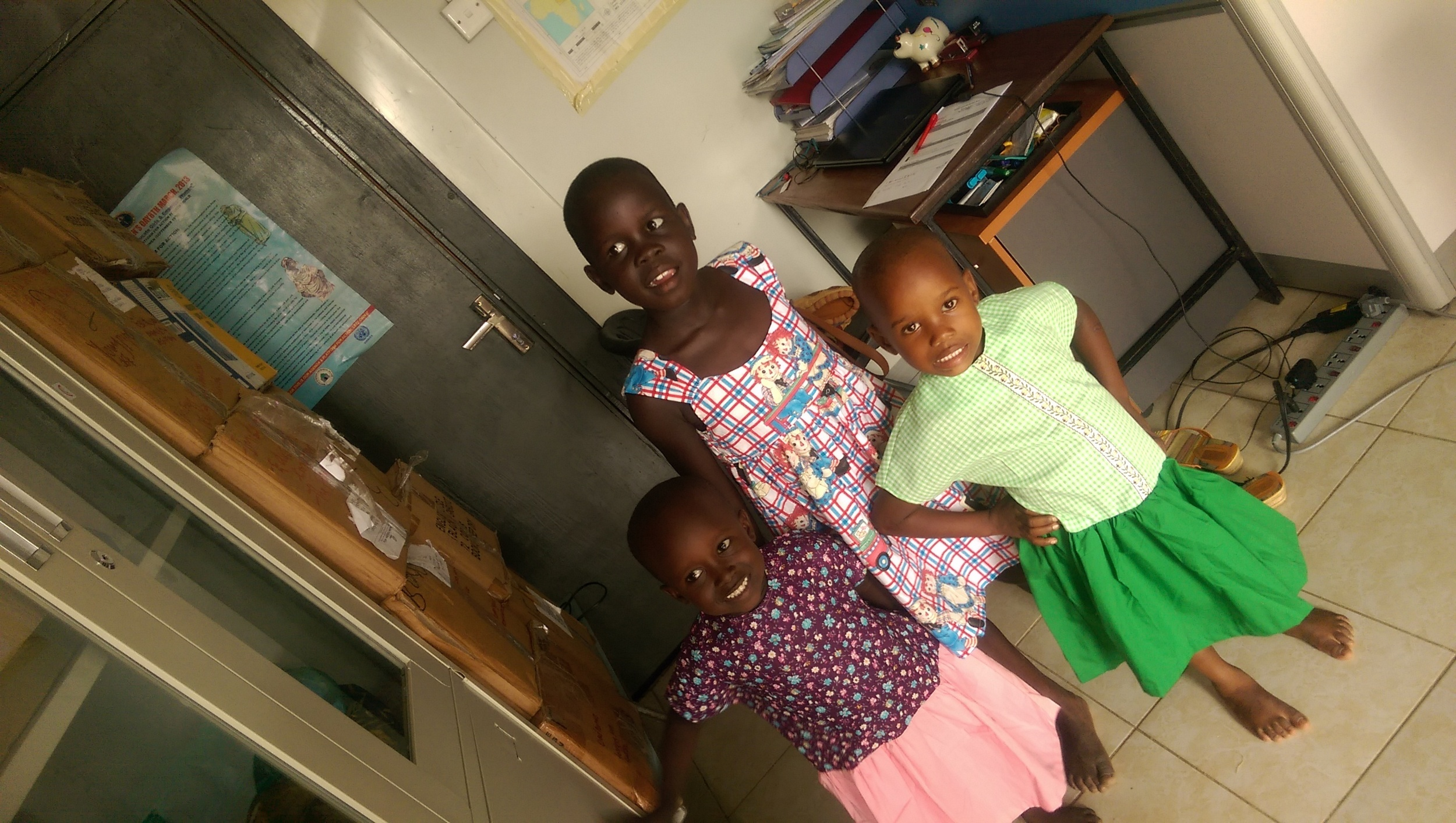 creating a smile on God's children