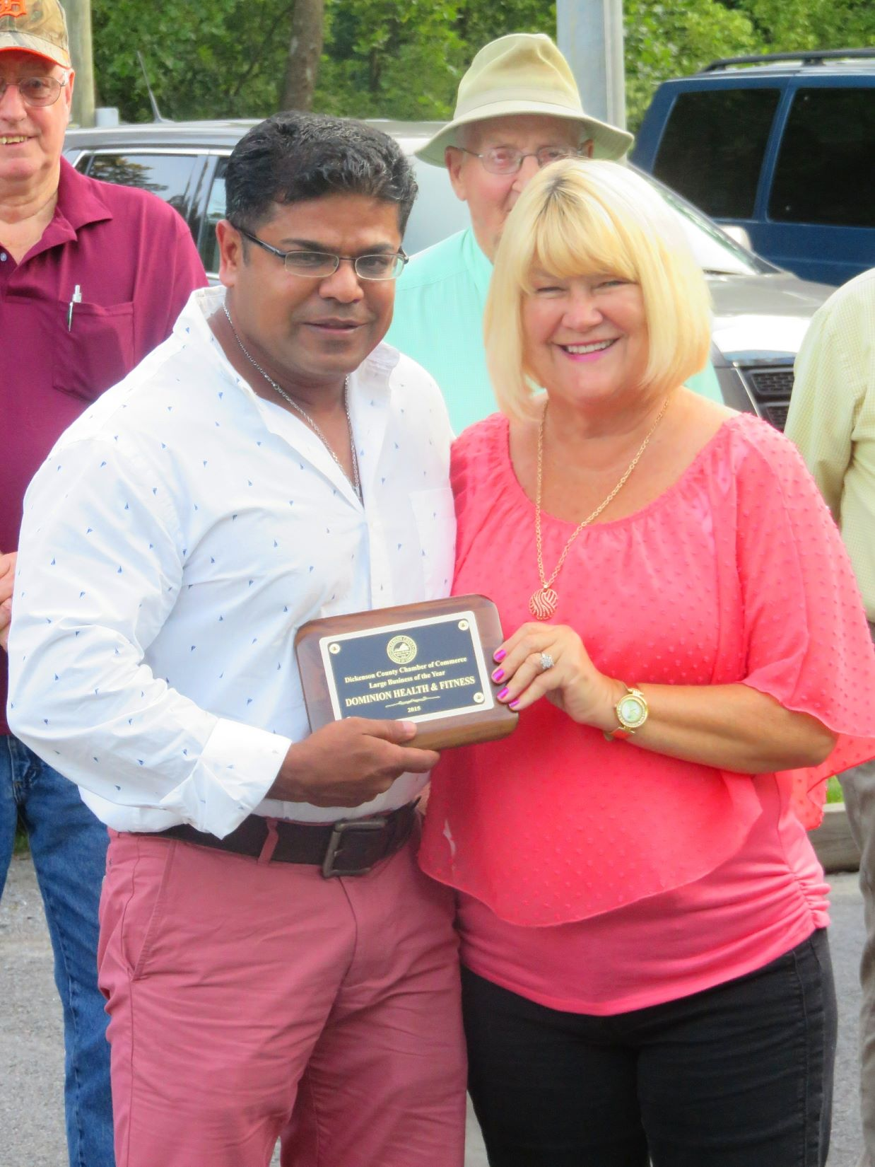 Dickenson County Chamber Large Business of the Year: Dominion Health & Fitness, Inc.
