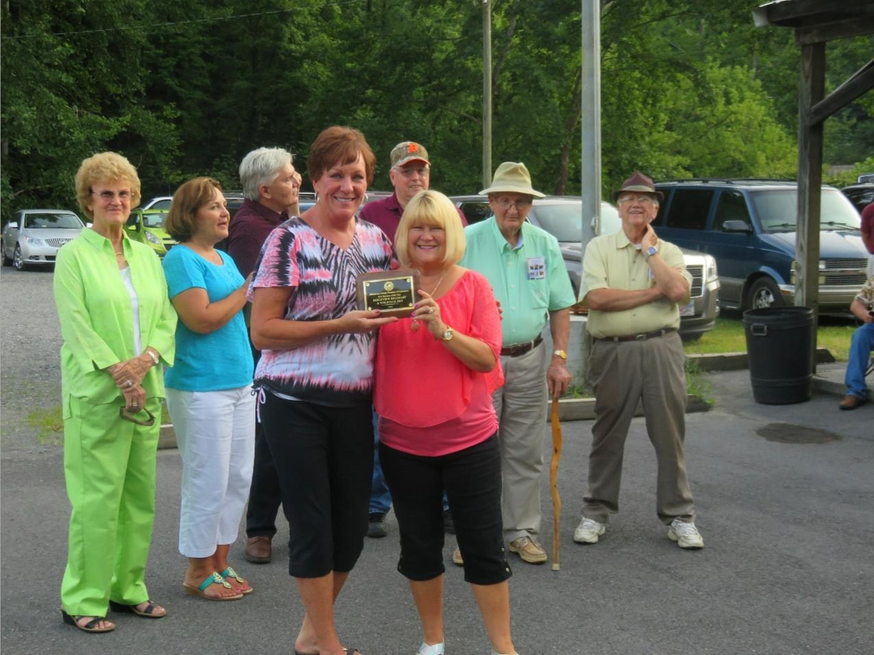 Dickenson County Chamber New Business of the Year: Ridgeview DeliMart & Wolfpack Den