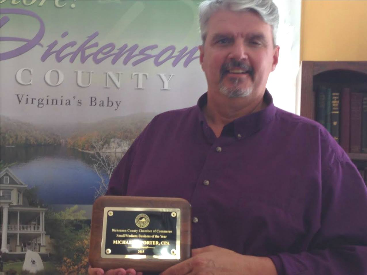 Dickenson County Chamber Small/Medium Business of the Year: Michael Porter, CPA