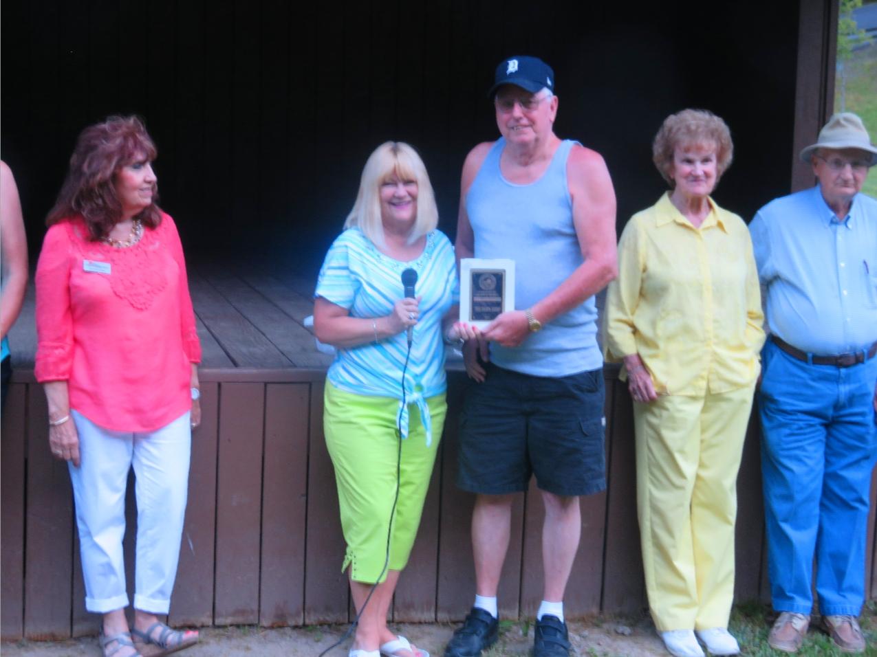 The Pawn Shop- Carl Mullins & Rita Surratt- 2017 Dickenson County Chamber's Small/Medium Business of the Year