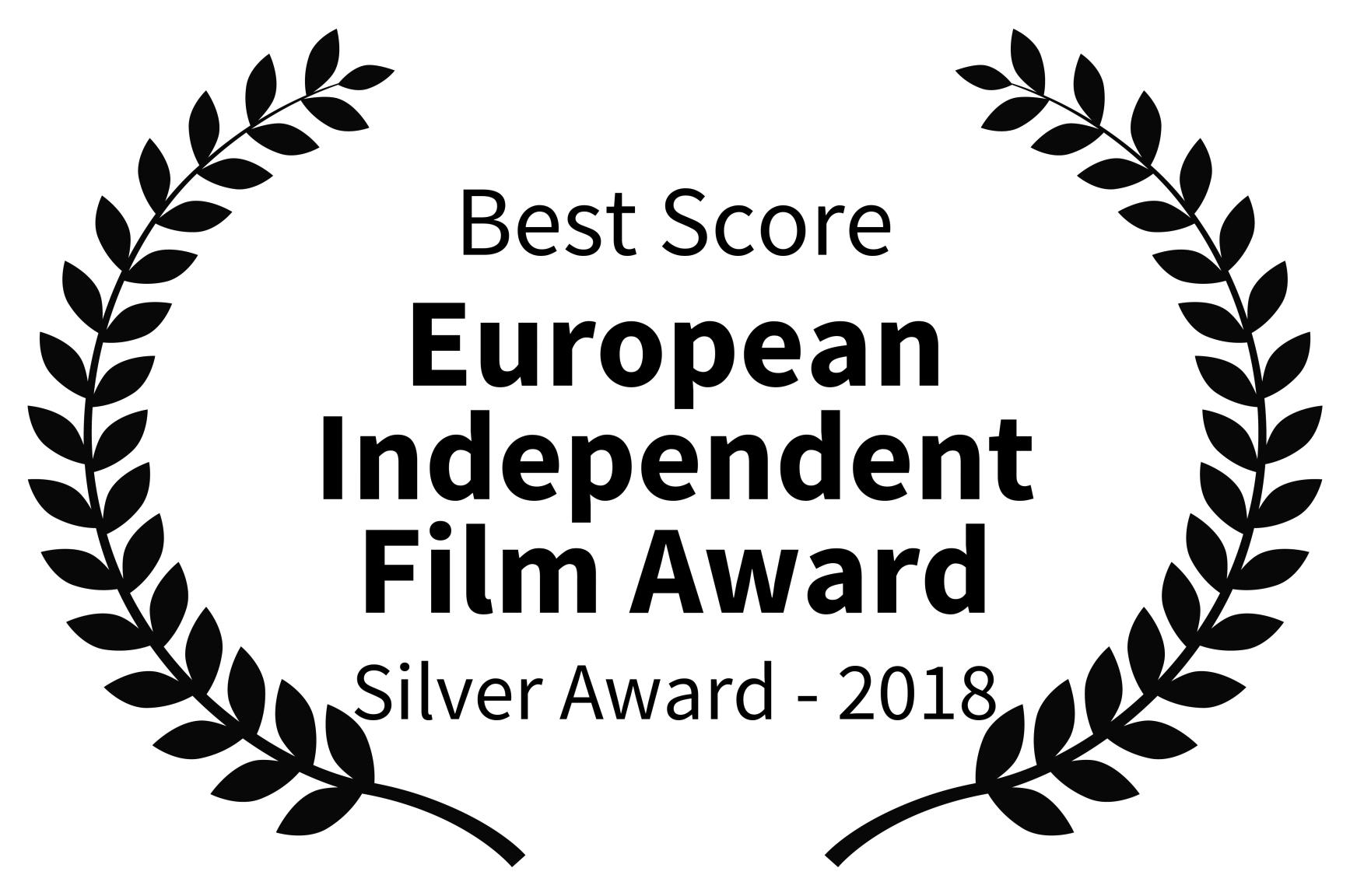 Best Score - European Independent Film Award - Silver Award - 2018.jpg
