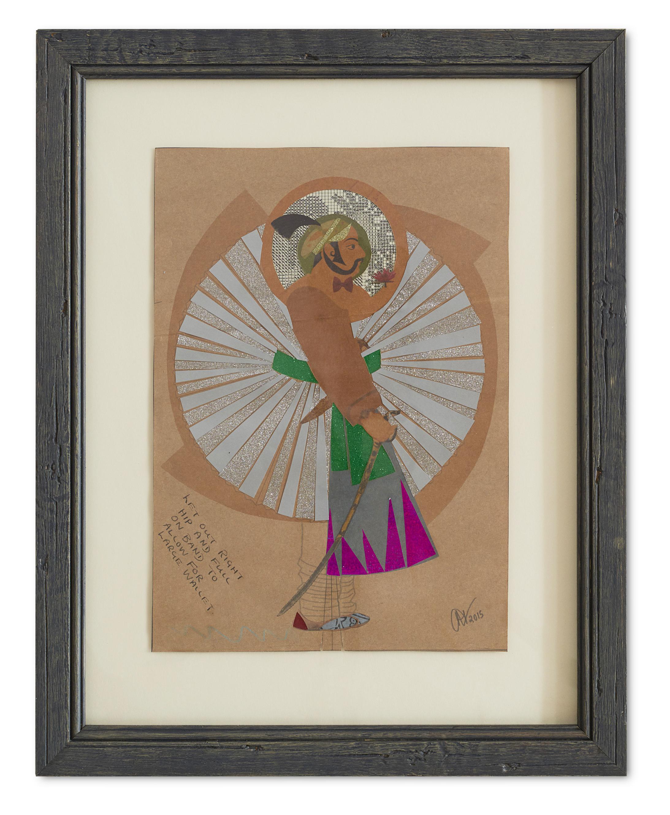 Maharaja Resplendence ,  2015  62 x 49.5 cm (framed)£1050