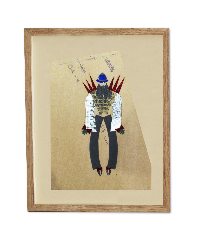 Rock Star Soldier  , 2015   38.2 x 29.6 cm (framed) £440
