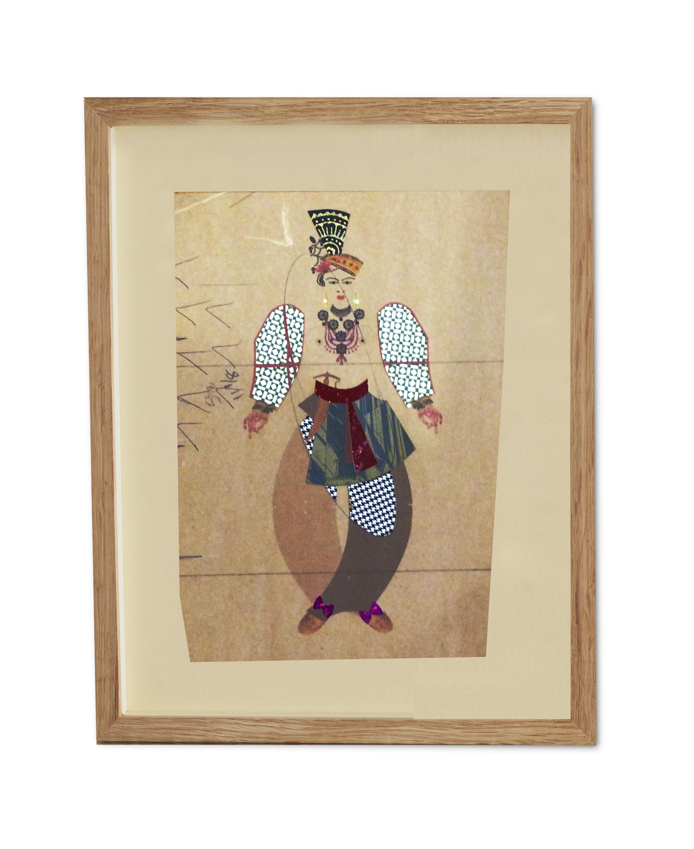Maharani Maiden  , 2015  38.2 x 29.6 cm (framed) £440