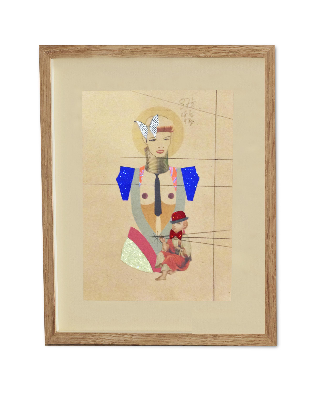 Mary of the East  , 2015  38.2 x 29.6 cm (framed) £440
