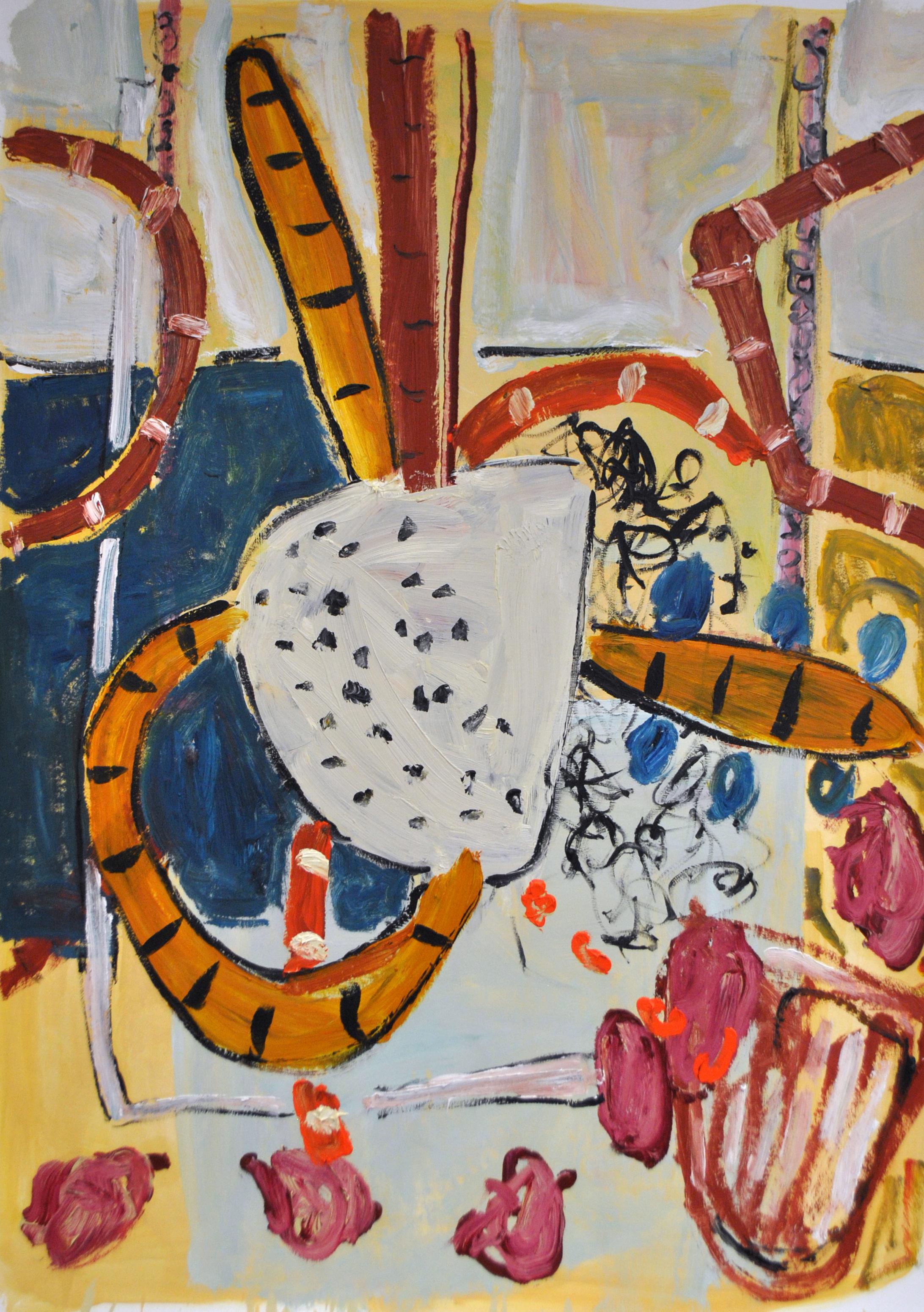 Alec Cumming, Knots of Knot, oil on paper, 91x66cm, 2015.jpg