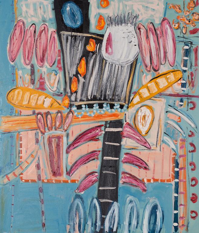 Dhokra Walla | oil on canvas | 107cm x 92cm | £4500