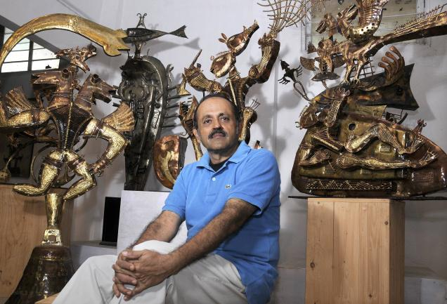 Art 18/21 deeply mourns the sudden passing of S Nandagopal of Cholamandal, a great sculptor of our time. He lived life full of passion and energy for his work. It was a privilege to work with Nandagopal and we remember his great generosity of spirit with affection.      Click here to Reply or Forward