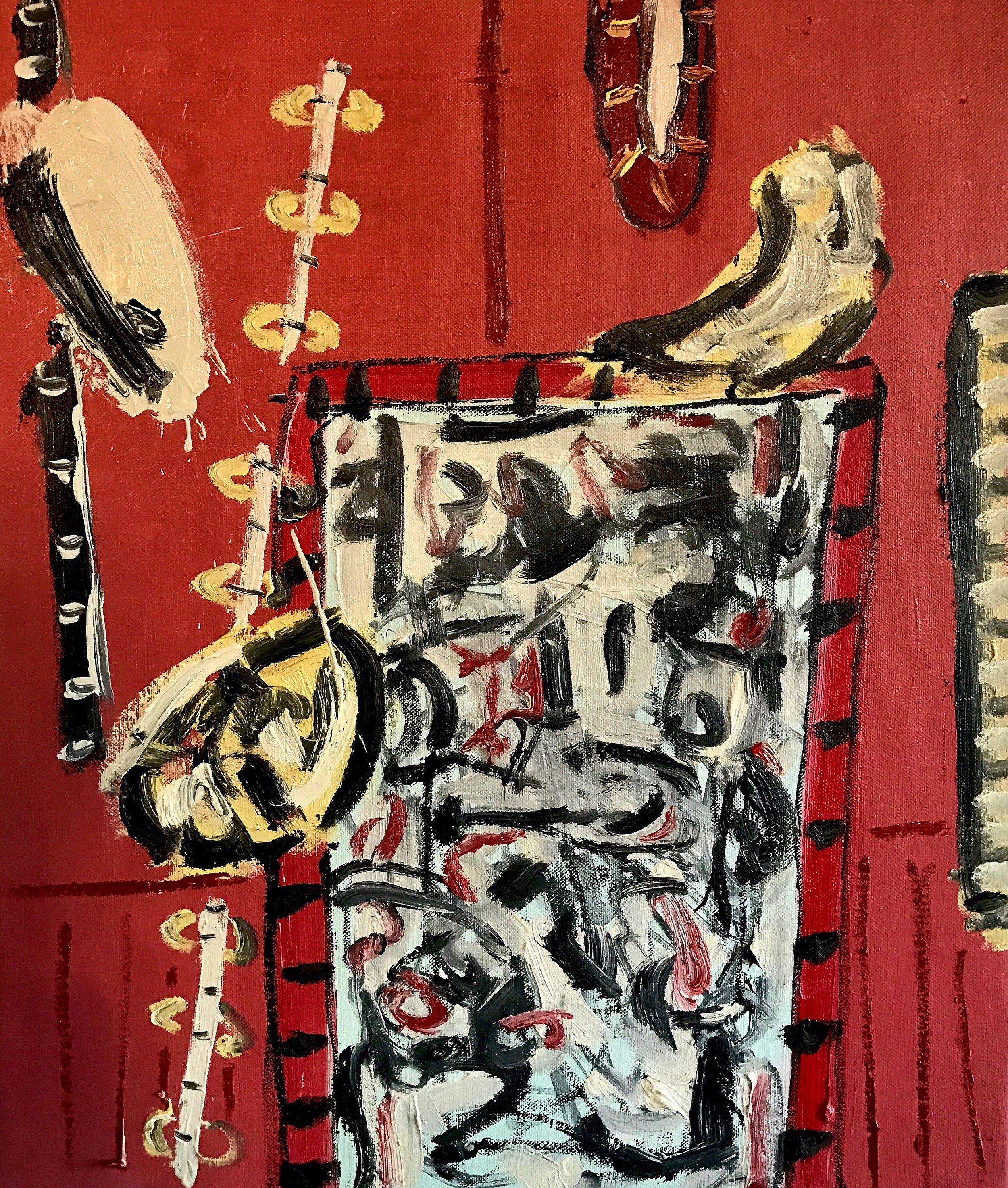 Alec Cumming | Oberio Cocktails | oil on canvas | 50 x 40 cm | £1800