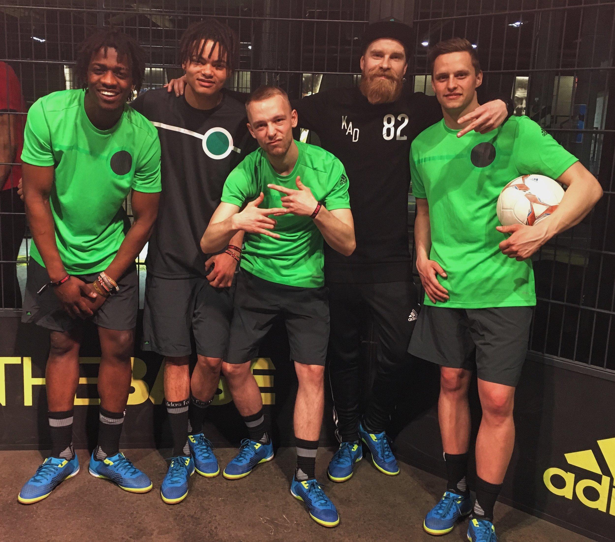 Adidas - The Base - Panna Event