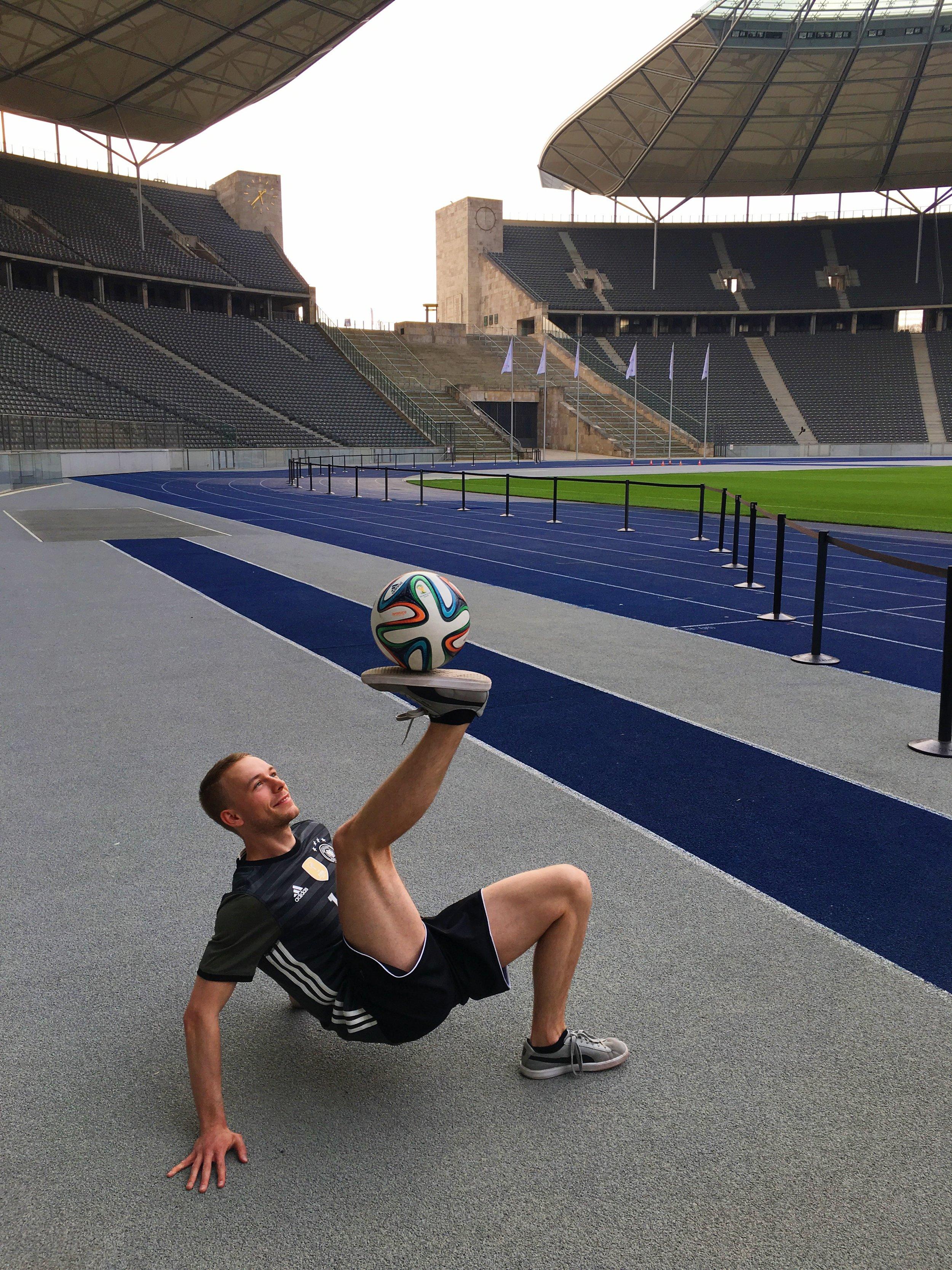 Air Liquide - Olympic Stadium Berlin