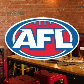 Grosvenor Hotel | AFL games live on the big screens