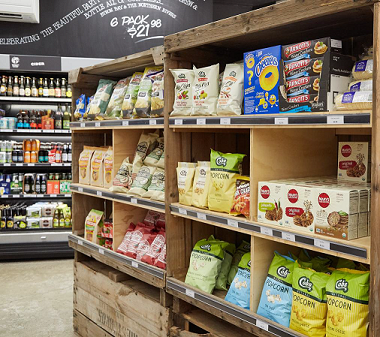 Grosvenor Grocery & Bottle Shop Shelves