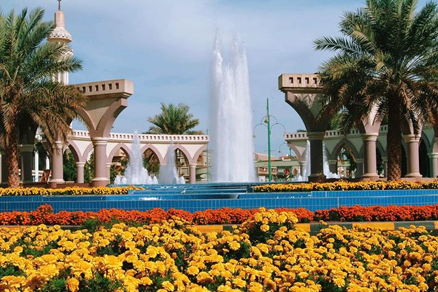 Al Ain City, United Arab Emirates.