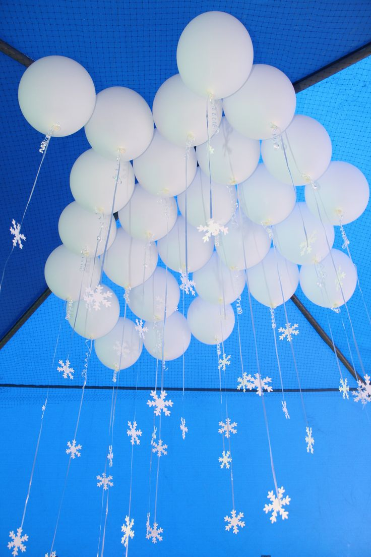 Frozen Icicle Balloons