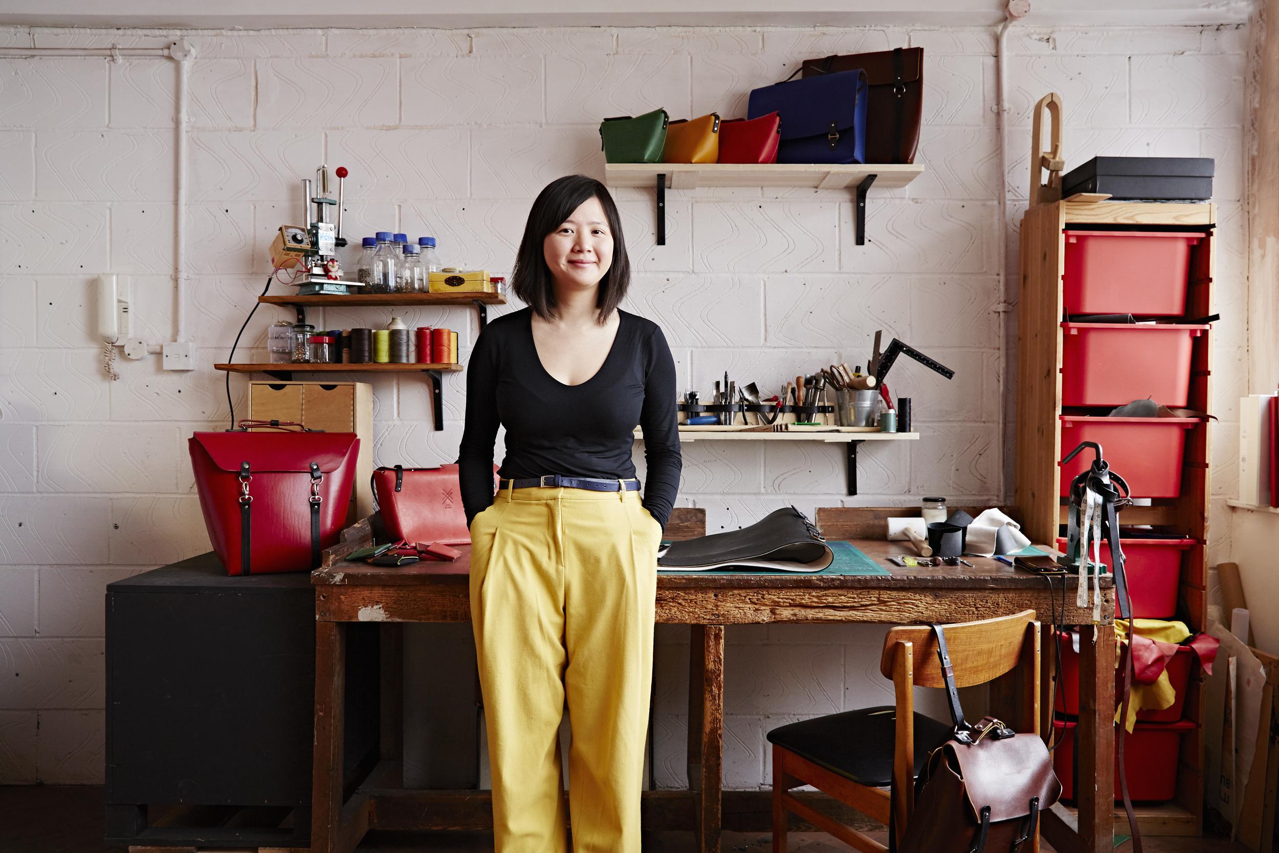 Craftsperson Candice Lau - image by Alun Callender
