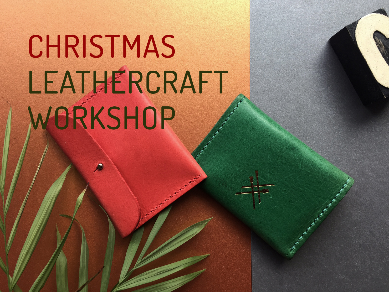 Christmas Leathercraft Workshop
