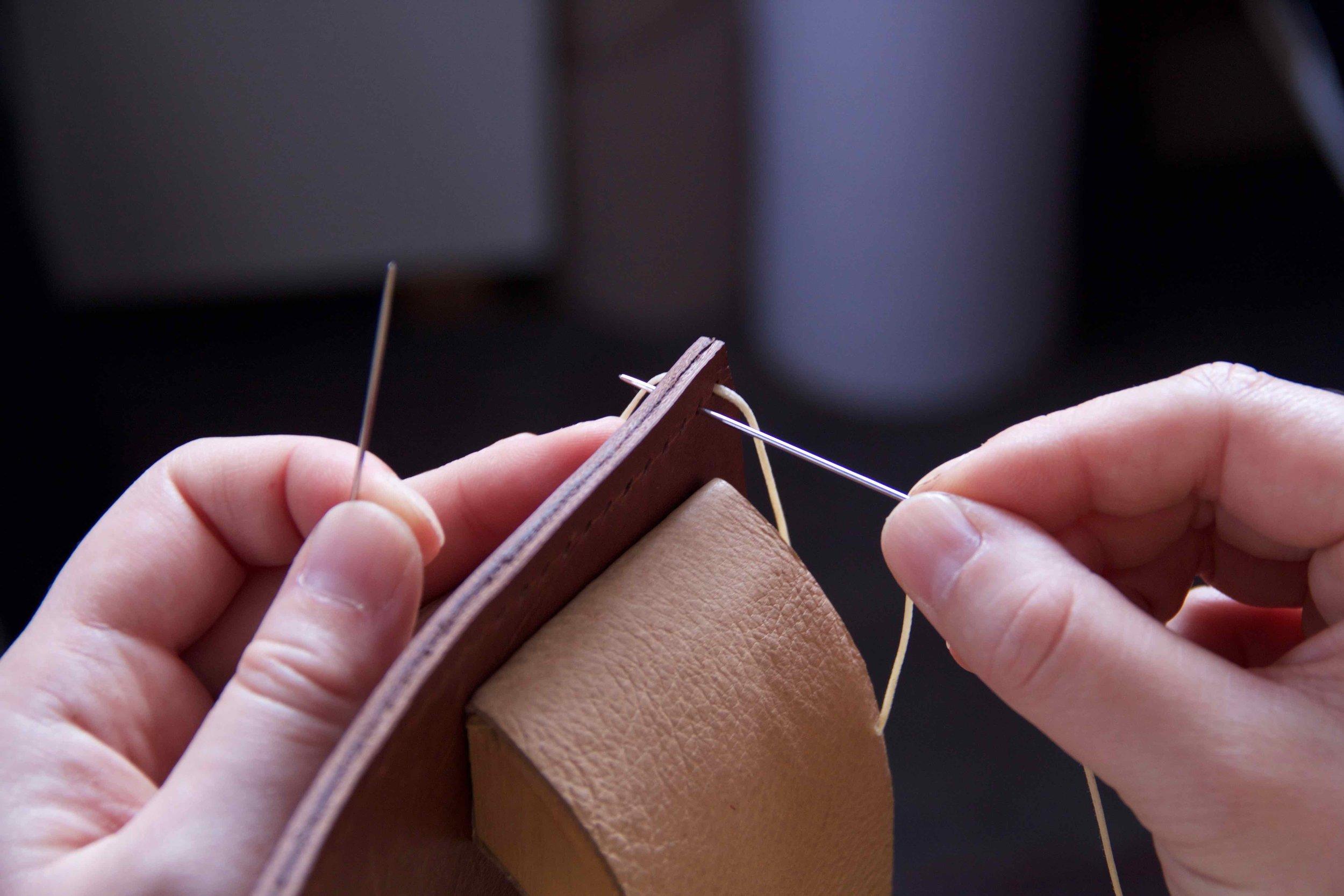 saddle stitching - studio candice lau