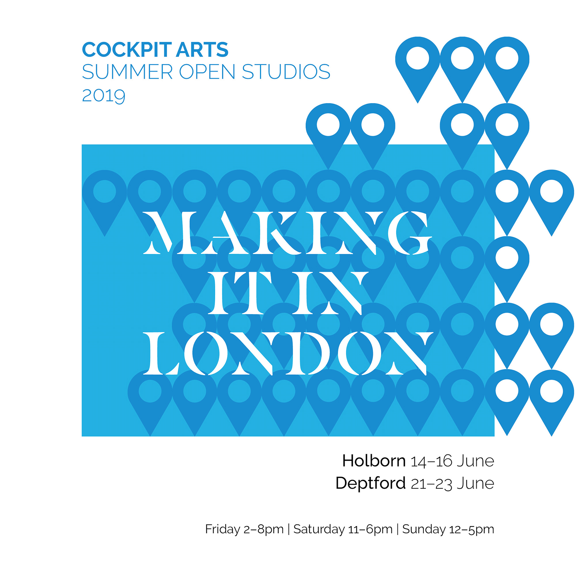 Cockpit Arts Open Studios 2019